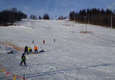 Impreza integracyjna na nartach