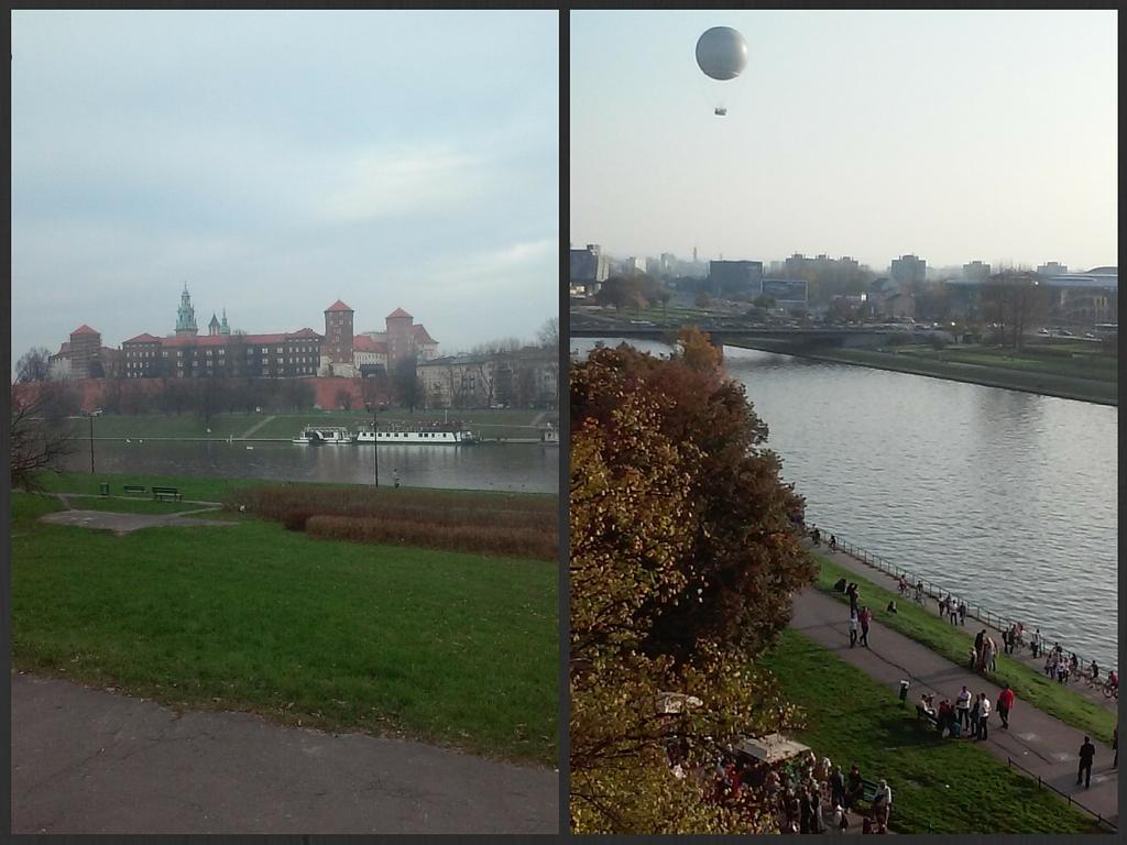 Wisła i Wawel Kraków